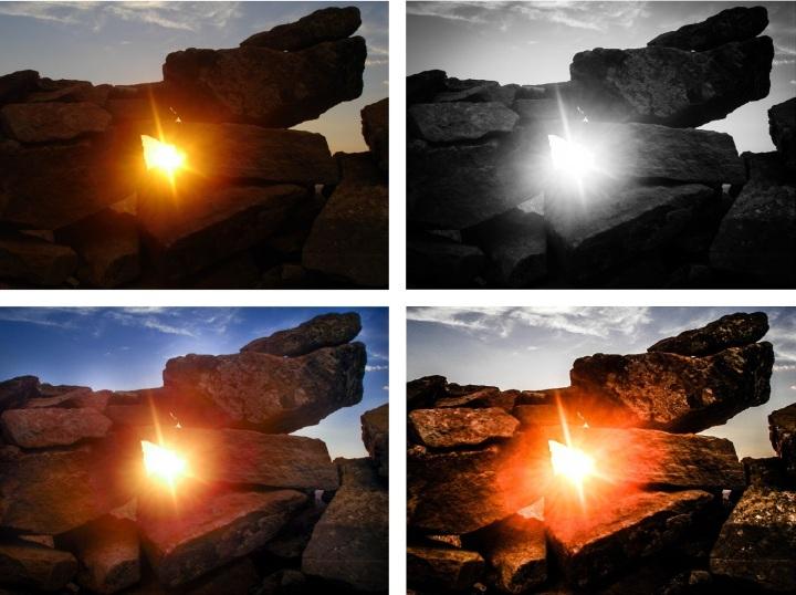 Shine On - Collage