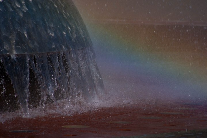 Rainbow Splashes