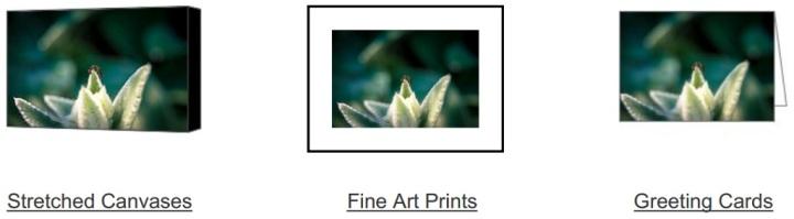 Custom printing/framing on Fine Art America