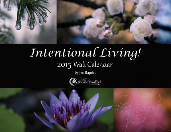 2015 Intentional Living! 2015 Wall Calendar Cover RGB
